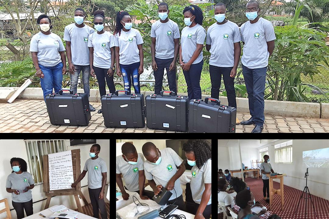 Young Ugandan entrepreneurs
