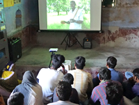 The videos are helping the rural communities to discover sustainable farming techniques.