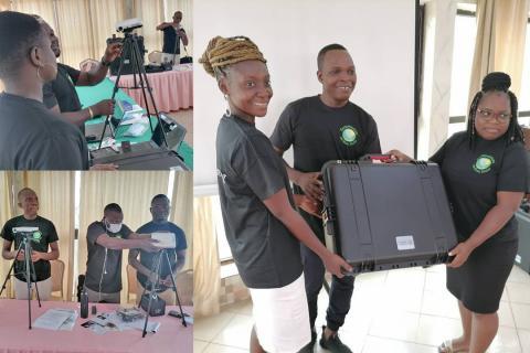 Young entrepreneurs in Benin